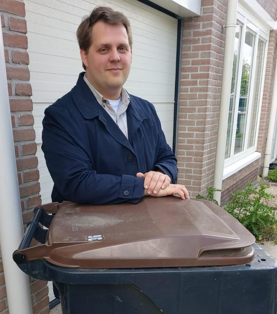 Raadslid Jordy Schaap